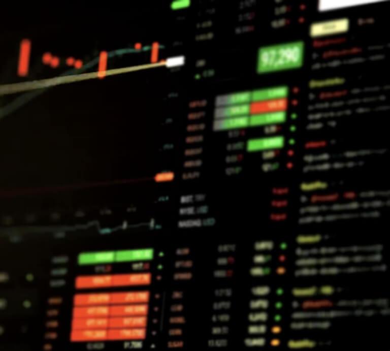 trade markets background